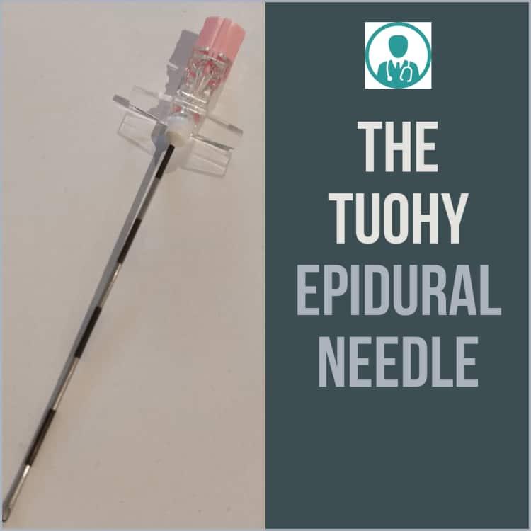 Touhy Epidural Needle